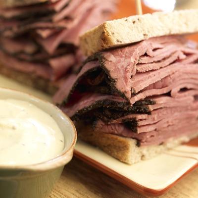 Jersey pastrami sandwich