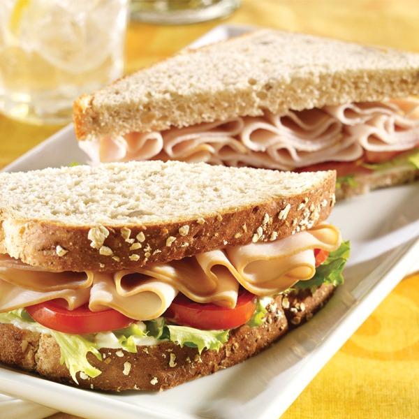 all-American turkey sandwich
