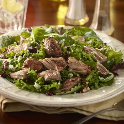 Turkey pot roast cranberry kale salad